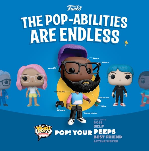 Funko Fans Can Now Pop Themselves With New Pop Yourself Factory
