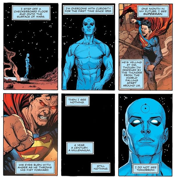 Is This Superman's Biggest Punch Ever? Justice League #25 Spoilers...