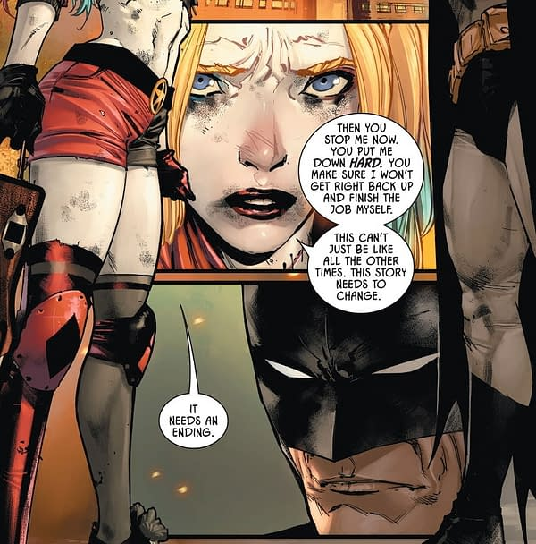 Does Batman #99 Set Up Harley Quinn Killing The Joker? (Spoilers)