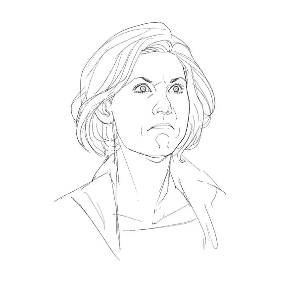Rachael Stott, Working Out How To Draw Jodie Whittaker, the Thirteenth Doctor Who