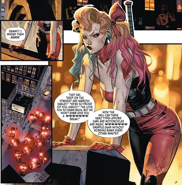 Harley Quinn Wants To Be Batman's Next Robin (Batman #112 Spoilers)