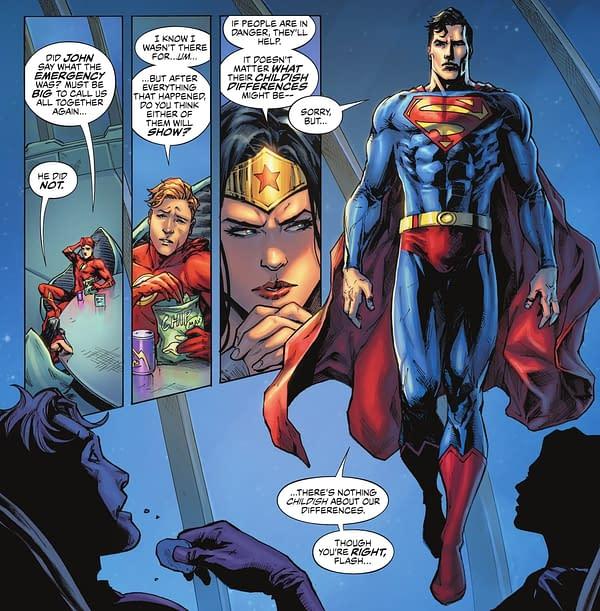 Batman Wants To Get Politics Out Of Comics