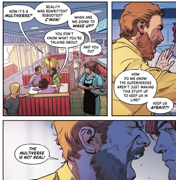 Infinite Frontier #1 - Multiverse, Crisis and Roy Harper (Spoilers)