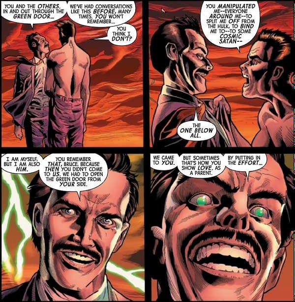 The Origin of Gamma in Immortal Hulk #20 (Preview)