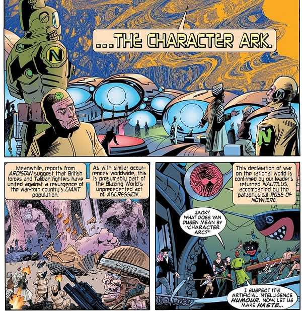 Alan Moore and Kevin O'Neill's Penultimate Comics Together – Tempest #5 and Cinema Purgatorio #17