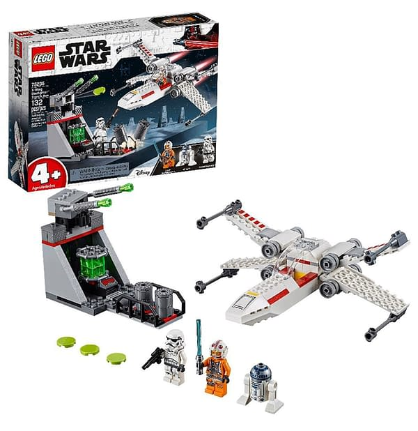 LEGO STAR WARS X-WING STARFIGHTER TRENCH RUN from Fun.com