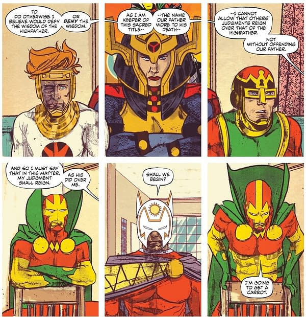 Mister Miracle #4 Review: A Continually Powerful Yet Intimate Portrayal Of Depression