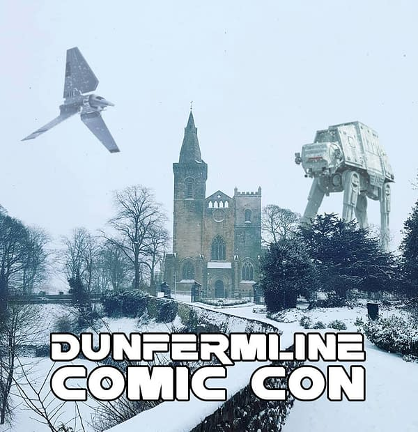 Dunfermline Comic Con Canceled Due to Snow Blizzards, Asks For Donations to Help With Costs