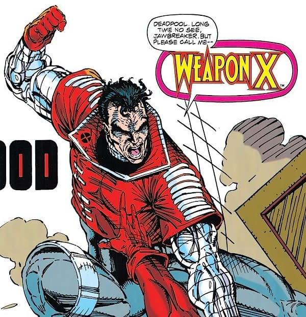 Rob Liefeld Posts Original Designs For Deadpool – and That, He Was Weapon 9 All Along….