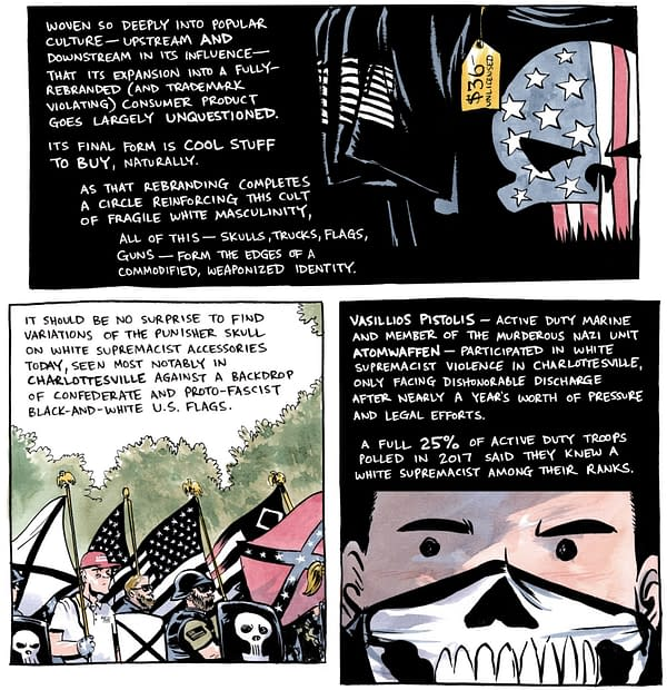 Marvel's Punisher Skull Now Used For QAnon Recruitment