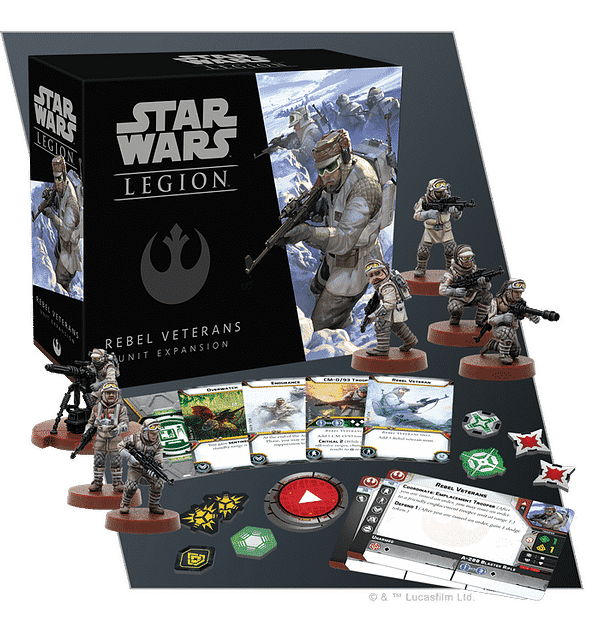 Rebel Veterans Hit the Trenches for Star Wars: Legion
