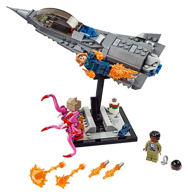 LEGO SDCC Exclusive Captain Marvel Set Revealed