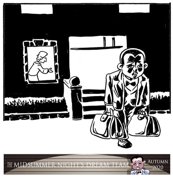 Midsummer Night's Dream Team - a Shakespeare Crime Noir Graphic Novel