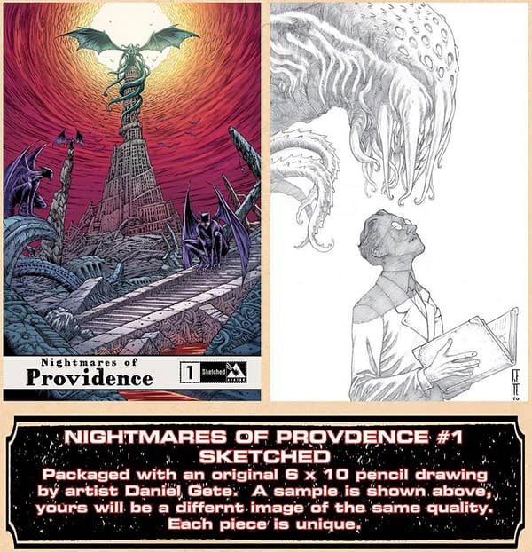 Alan Moore & Daniel Gete's Nightmares Of Providence in April Solicits