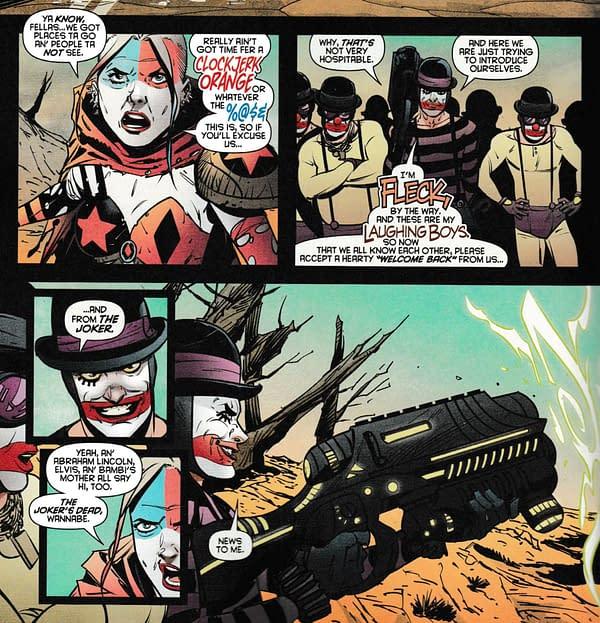 Barbara Gordon and the Joker in DC Comics Today (Spoilers)