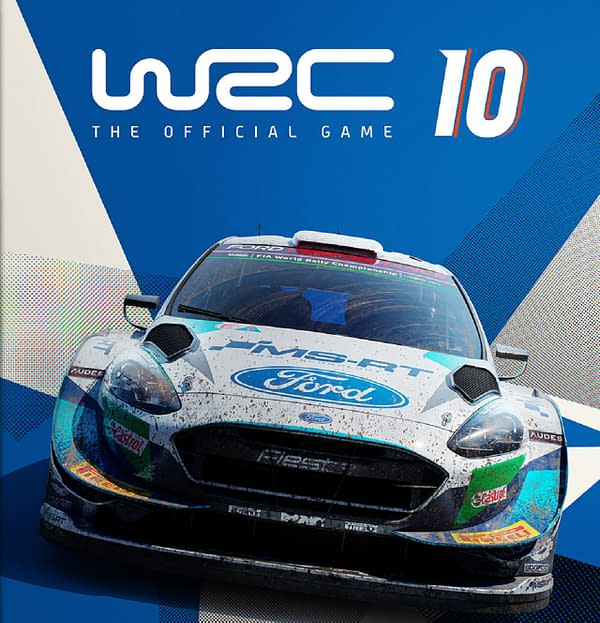A look at the cover art for WRC 10, courtesy of Nacon.