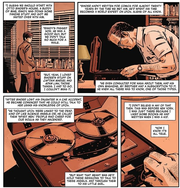 The Real Story Of Frank Miller & Otto Binder's Rorschach Seance Tape