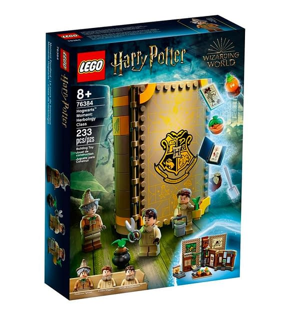 Class Is in Session With These New Harry Potter Book LEGO Sets