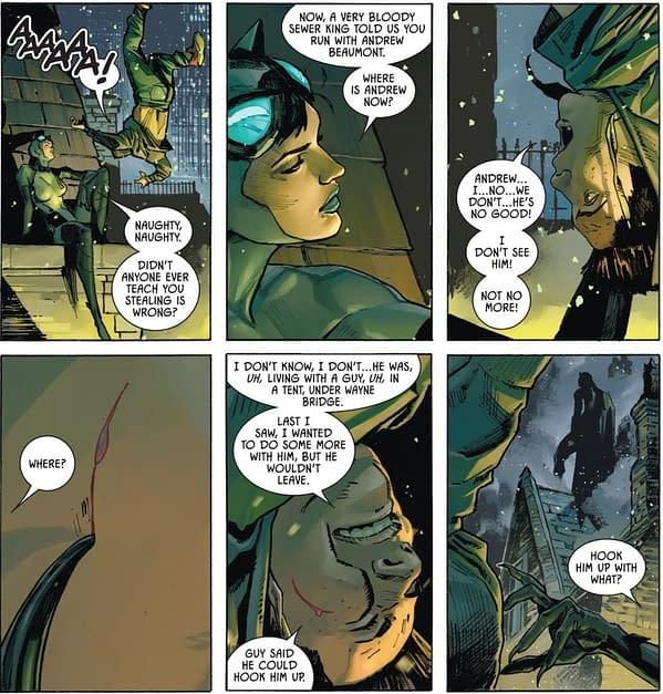 Did The Joker Kill Batman's Son In Batman/Catwoman? (Spoilers)