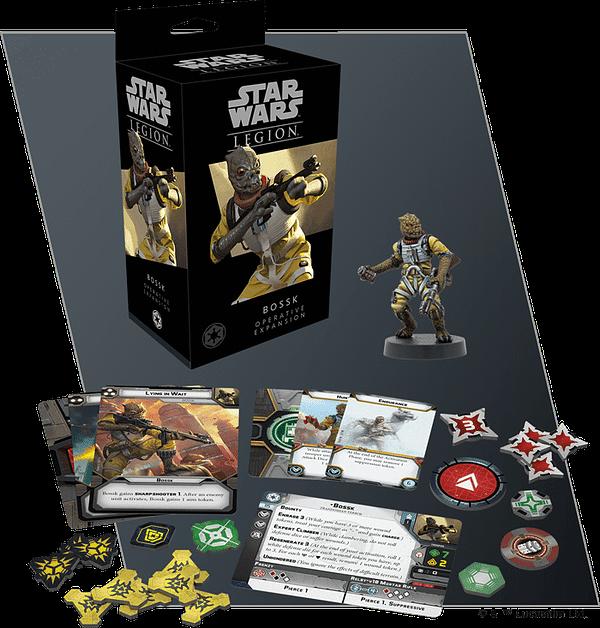 Sabine and Bossk Blast Their Way into Star Wars: Legion