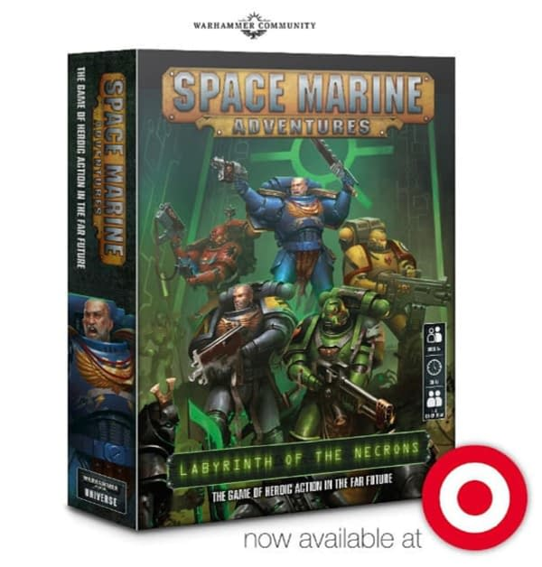 """Target Spotted! """"Space Marine Adventures"""" Seen at Retailer"""