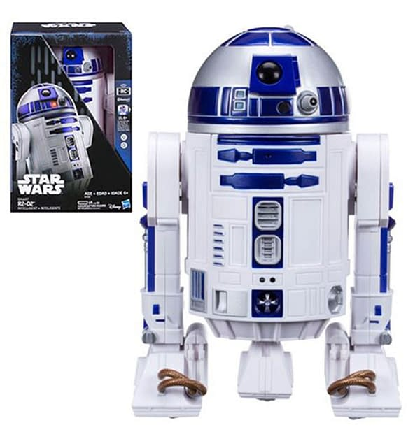 STAR WARS ROGUE ONE SMART R2-D2 SMART PHONE TOY from Fun.com.