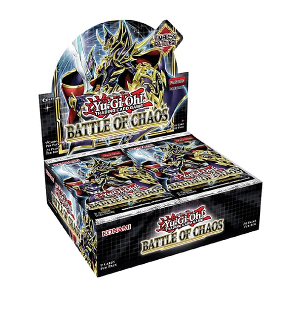 A look at the box artwork for Battle of Chaos, courtesy of Konami.