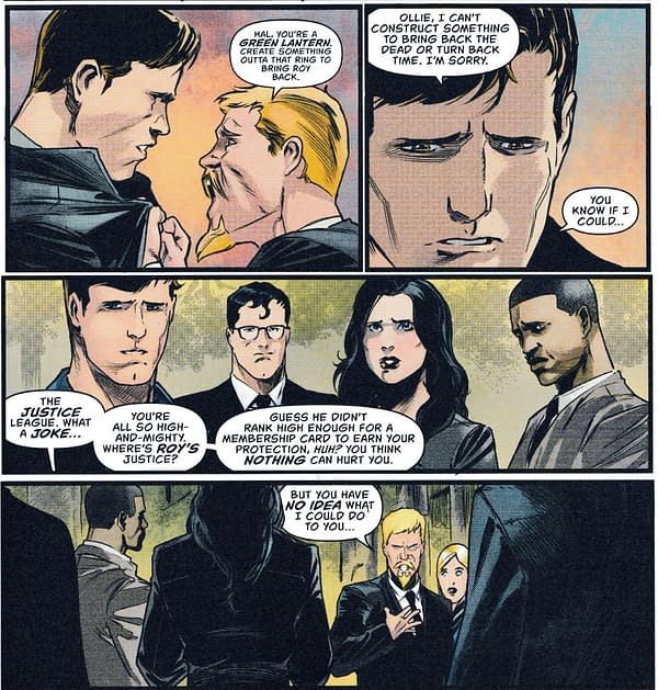 Green Arrow #45's Heroes In Crisis Crossover Forgets Wally West.. (Spoilers)