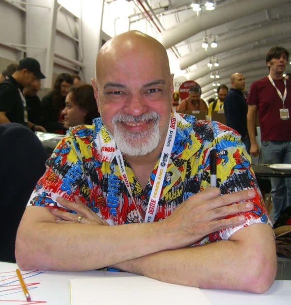 "George Pérez Announces Retirement from ""Creating New Comic Stories"""
