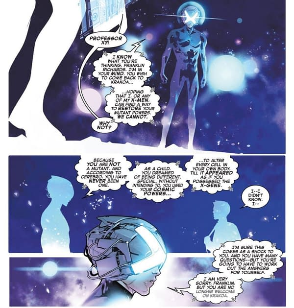 The Problem With Franklin Richards Never Having Been A Mutant