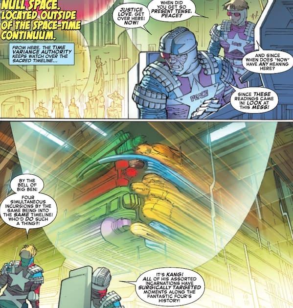 Fantastic Four Establishes Sacred Timeline For Marvel Comics As Well