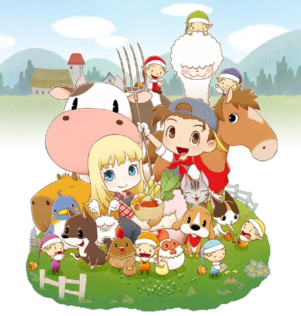 Story of Seasons_Friends of Mineral Town Main Art