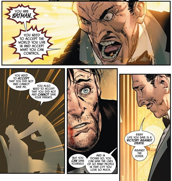 Imaginary Alfred Wants Bruce To Be Batman, Imaginary Martha Doesn't
