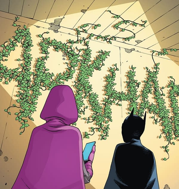 Poison Ivy Is Coming? Seems So... Batman #104 Spoilers