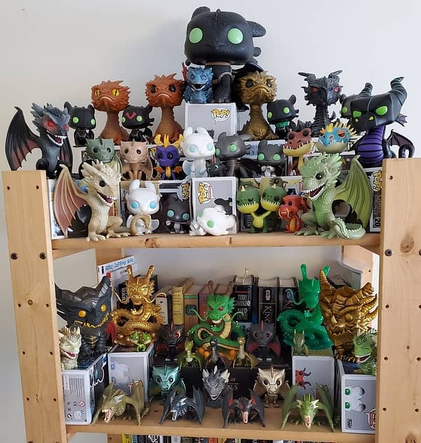 How Downsizing My Funko Collection Started Off My Dragon Obsession