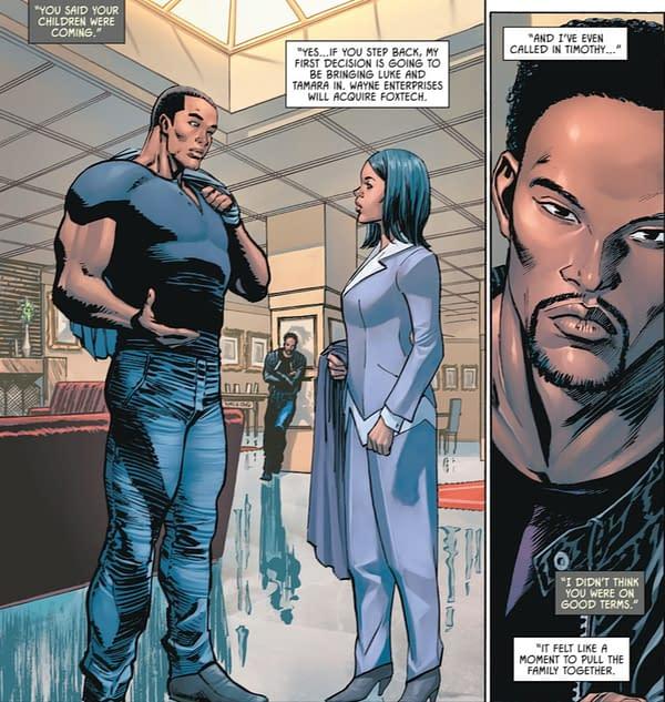 Defund Batman - Joker Was Right, in Batman #101 (Spoilers)