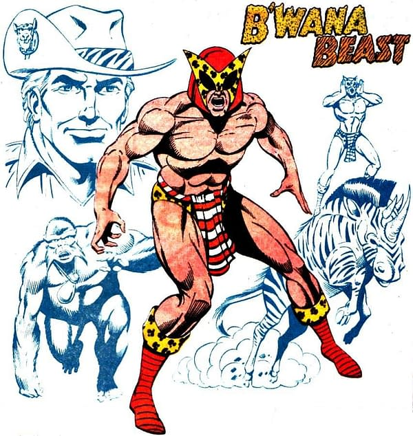 The Comic Book History Of B'wana Beast