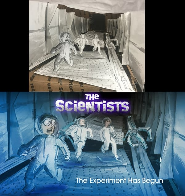 Geoff Weber Adds Depth to The Scientists by Thinking Inside the Box