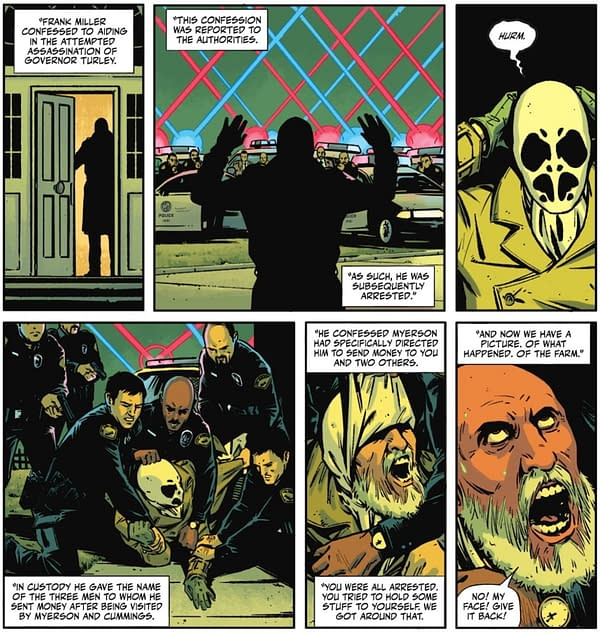 Unmasking Frank Miller As Rorschach (Spoilers)
