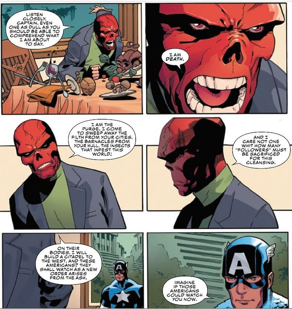 Red Skull Was Right? Ta-Nehisi Coates Finished Captain America Run