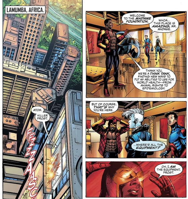 Is This the Missing Justice League Comic? (Justice League of America #29 SPOILERS)