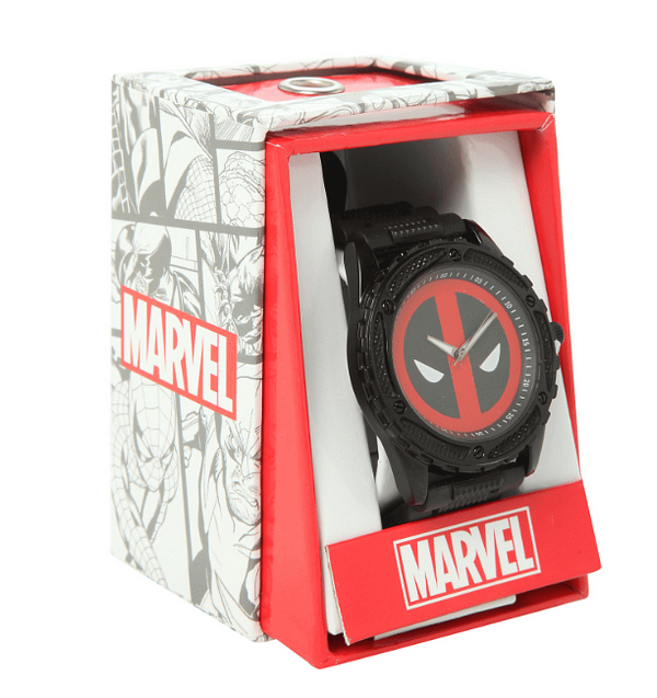 Deadpool Watch_Accutime_Hot Topic