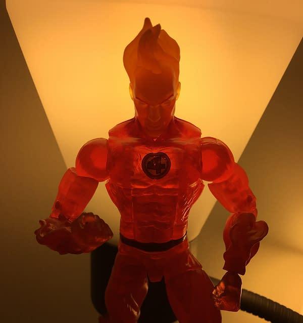 Fantastic Four Human Torch Marvel Legends 10