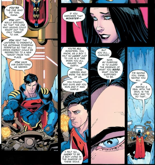 Death Metal #4 Uses Superboy Prime To Address Toxic Fandom (Spoilers)