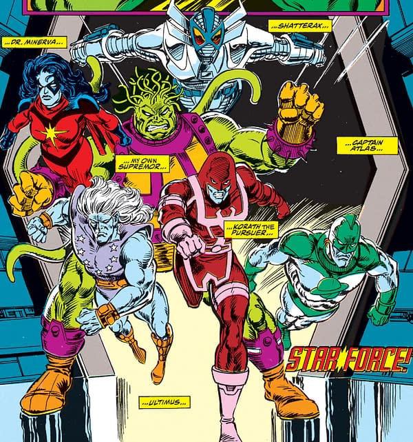 Marvel Comics to Bring Back Starforce Ahead of Captain Marvel Film