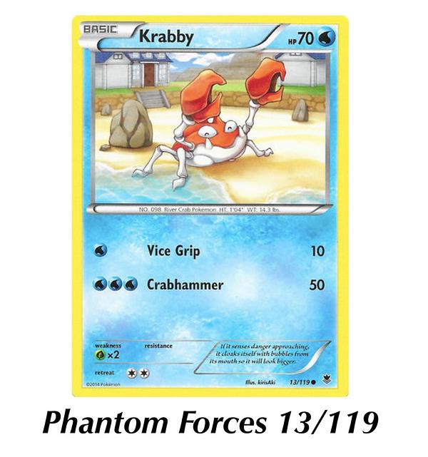 Phantom Forces Krabby. Credit: Pokémon TCG
