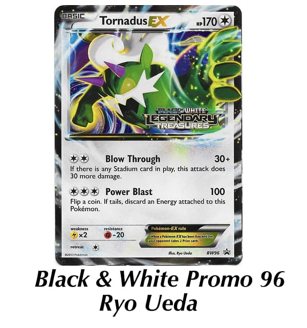 Black & White promo Tornadus. Credit: TPCI