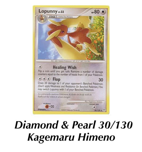Diamond & Pearl Lopunny. Credit: Pokémon TCG