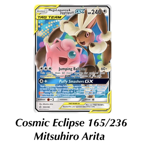 Cosmic Eclipse Lopunny. Credit: Pokémon TCG
