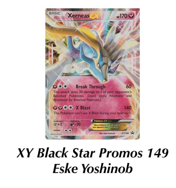 XY Promo Xerneas. Credit: Pokémon TCG